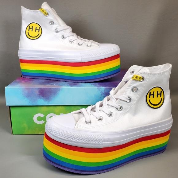 Converse X Miley Cyrus Pride Platform